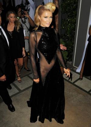Paris Hilton: Pre Grammy 2014 Photos -05