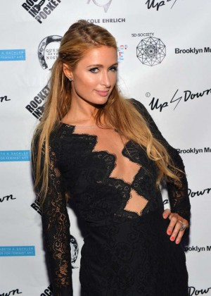 Paris Hilton - 2nd Annual Women In Art Benefit in Miami Beach