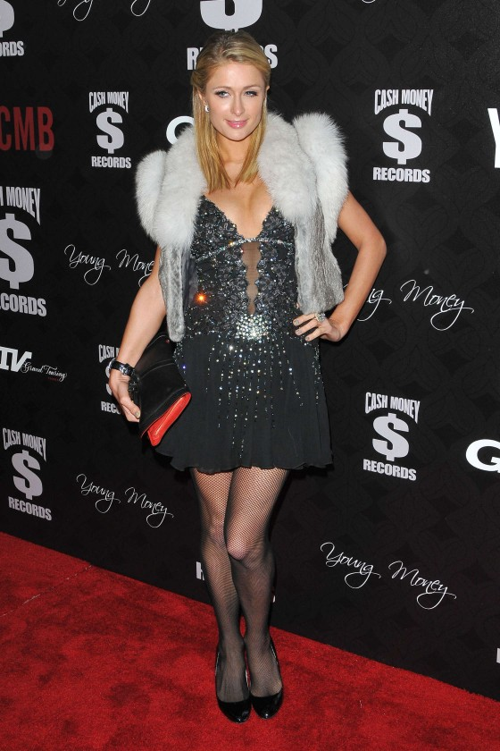 Paris Hilton – 2013 Pre-GRAMMY Awards Party -03