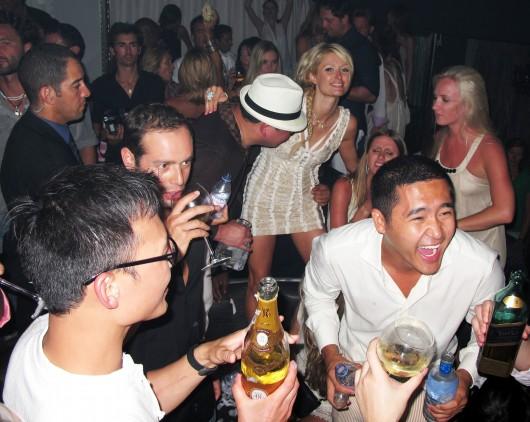 "Paris Hilton – ""Cream Party"" at Papagayo Club in Saint Tropez"