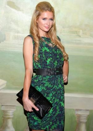 Paris Hilton - Alice Olivia Spring 2015 Presentation in NYC