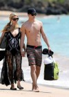 Paris Hilton and River Viiperi On Vacation in Maui -01