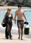 Paris Hilton and River Viiperi On Vacation in Maui -11