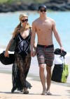 Paris Hilton and River Viiperi On Vacation in Maui -14