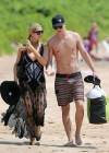 Paris Hilton and River Viiperi On Vacation in Maui -16