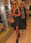 Paris Hilton at LAX -02