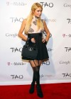 Paris Hilton - Attends Google Music at TAO Nightclub by TMobile Utah-02