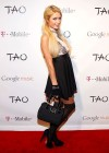 Paris Hilton - Attends Google Music at TAO Nightclub by TMobile Utah-06