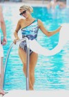 Paris Hilton - Bikini Candids at pool in Miami