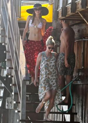 Paris Hilton Bikini Photos: in Malibu -01