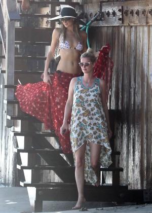 Paris Hilton Bikini Photos: in Malibu -05