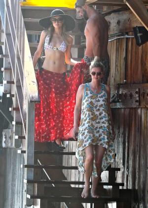 Paris Hilton Bikini Photos: in Malibu -14
