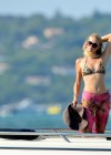 Paris Hilton - bikini top in Saint Tropez-01