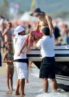 Paris Hilton - bikini top in Saint Tropez-18