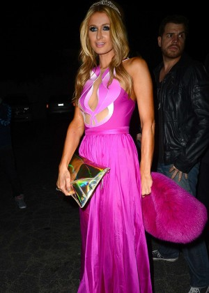 Paris Hilton celebrated her birthday -14