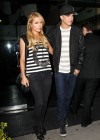 Paris Hilton dines at MrChoe in Beverly Hills -21