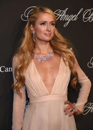 Paris Hilton - Gabrielle's Angel Foundation Angel Ball 2014 in NYC