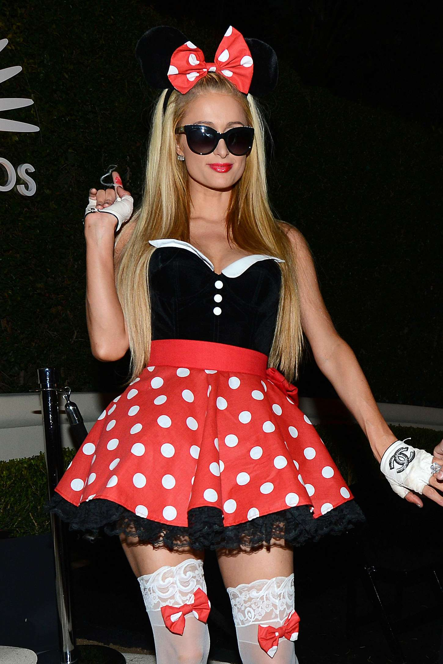 Paris Hilton - Casamigos Tequila's Halloween Party 2014 in Beverly Hills