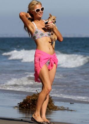 Paris Hilton in a Bikini in Malibu -04