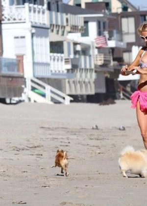 Paris Hilton in a Bikini in Malibu -21
