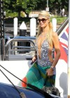 Paris Hilton in a swimsuit in Sydney