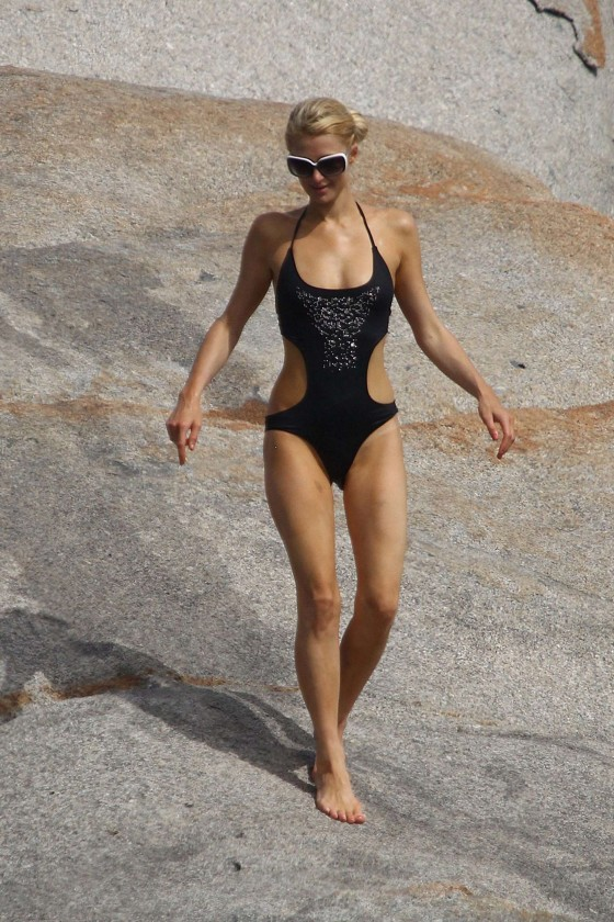 paris-hilton-in-black-swimsuit-in-france-14