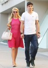 Paris Hilton leggy in Pink Dress-05