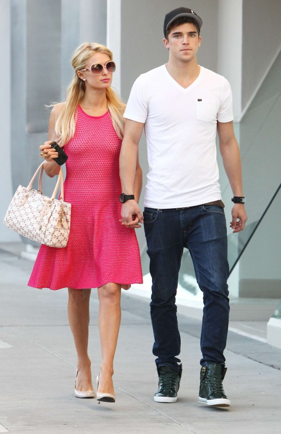 Paris Hilton Spotted in Beverly Hills