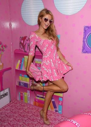 Paris Hilton - Jeremy Scott & Moschino Party in Miami Beach