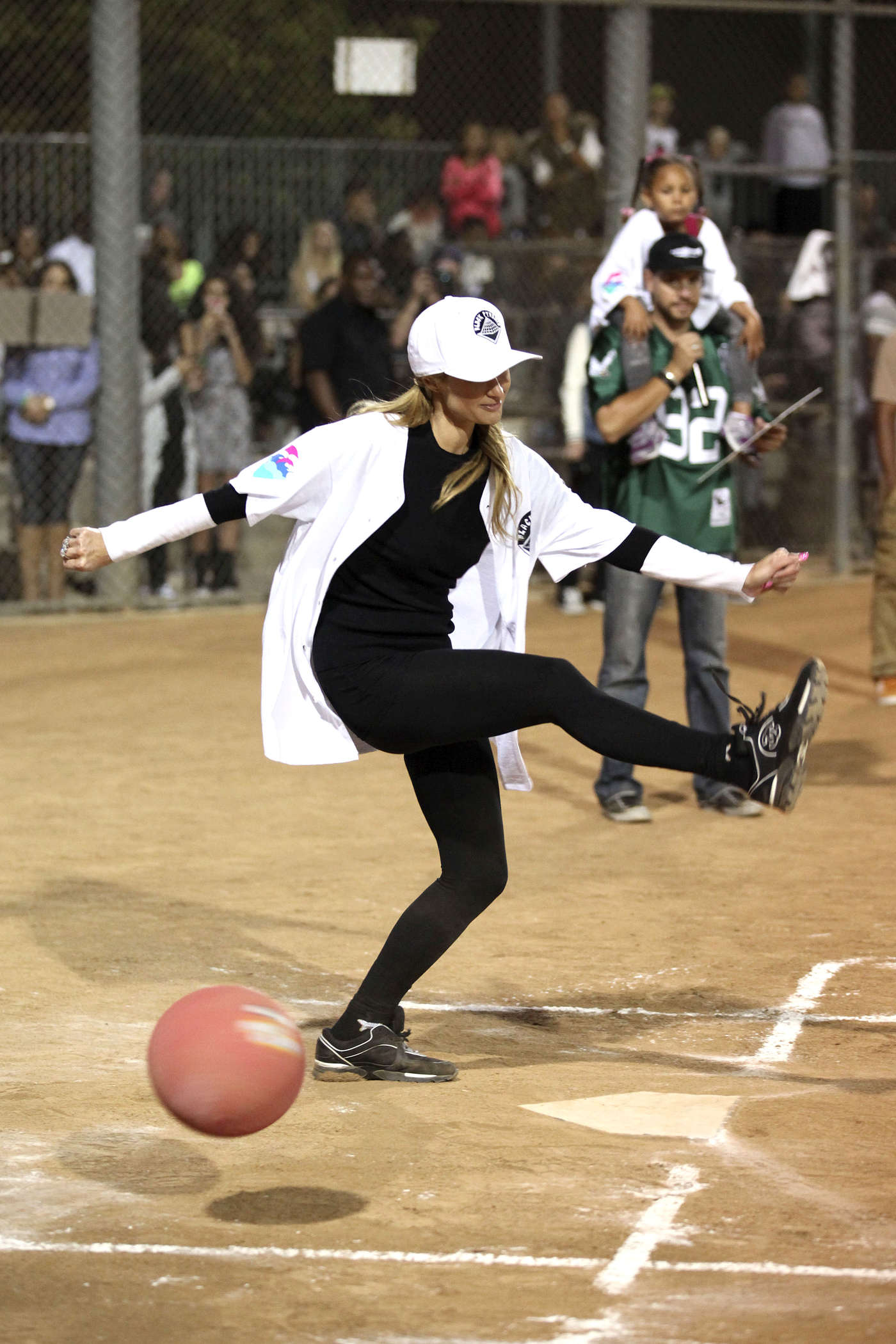 Paris Hilton - Kick'N It For Charity Celebrity Kick Ball Game in Glendale