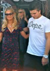 Paris Hilton leaves The Ivy -04