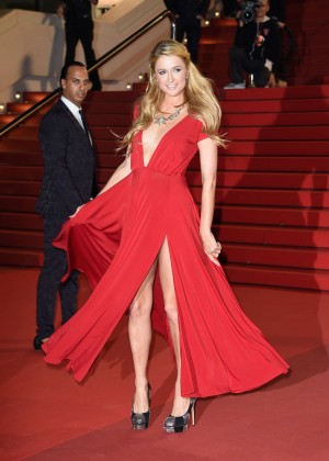Paris Hilton - NRJ Music Awards 2014 in Cannes