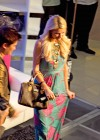 Paris Hilton - Opens new handbag store-02