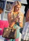 Paris Hilton - Opens new handbag store-07