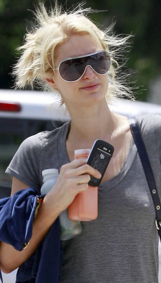 Paris Hilton - Out and about in West Hollywood