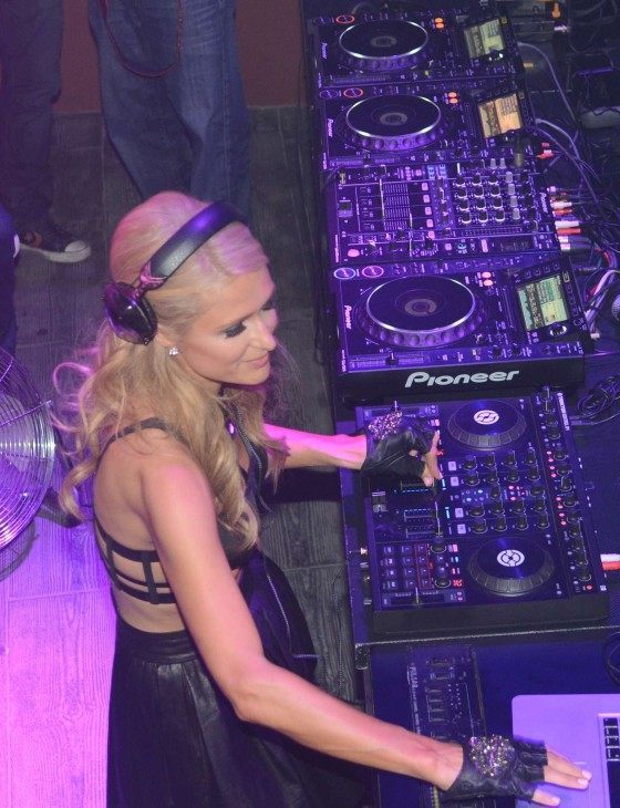 Paris hilton seen inside club amnesia in ibiza 09 - Paris hilton ibiza ...