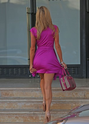 Paris Hilton: Shopping Candids at Barneys -03