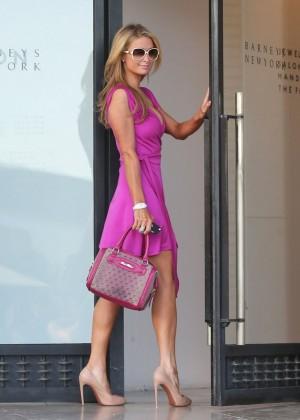 Paris Hilton: Shopping Candids at Barneys -04