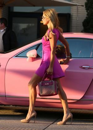 Paris Hilton: Shopping Candids at Barneys -07