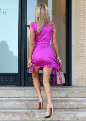 Paris Hilton: Shopping Candids at Barneys -11