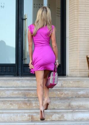 Paris Hilton: Shopping Candids at Barneys -12