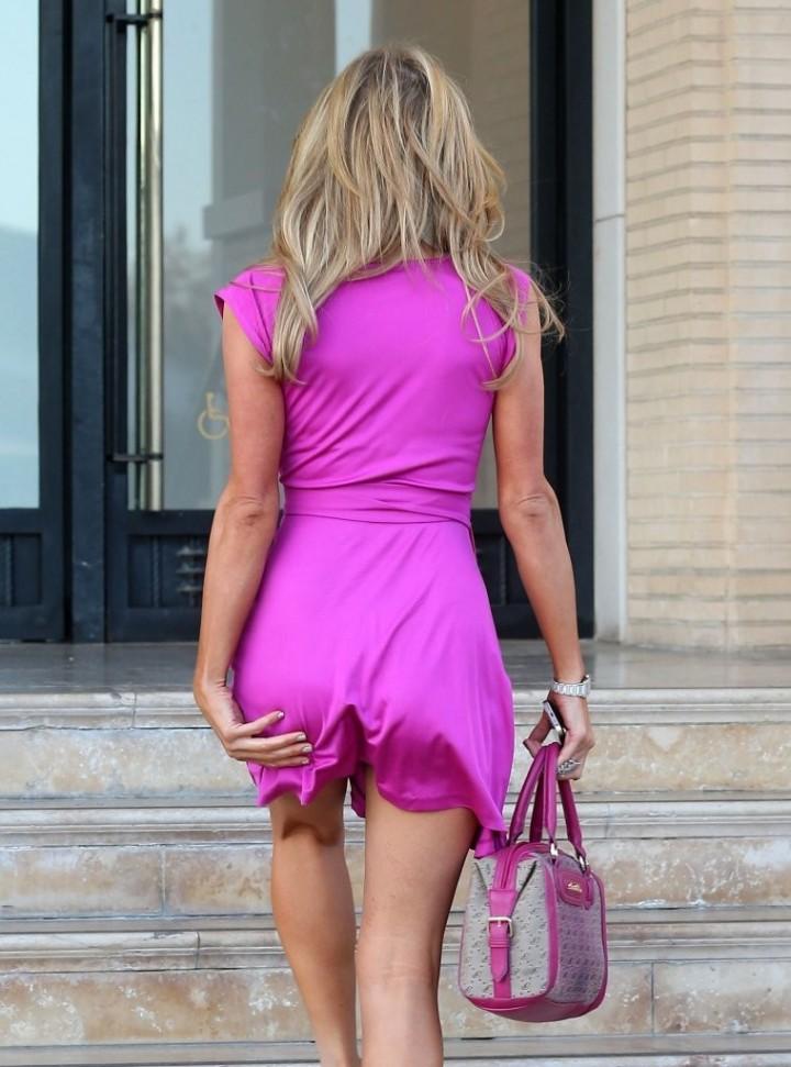 Paris Hilton: Shopping Candids at Barneys -13