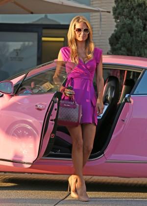 Paris Hilton: Shopping Candids at Barneys -16