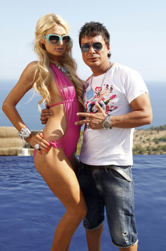 Paris hilton swimsuit candids at a supermartxe party in - Paris hilton ibiza ...