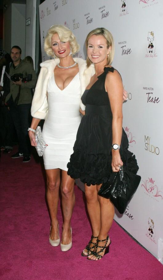 Paris Hilton – 'Tease' fragrance launch in LA – Marilyn Monroe