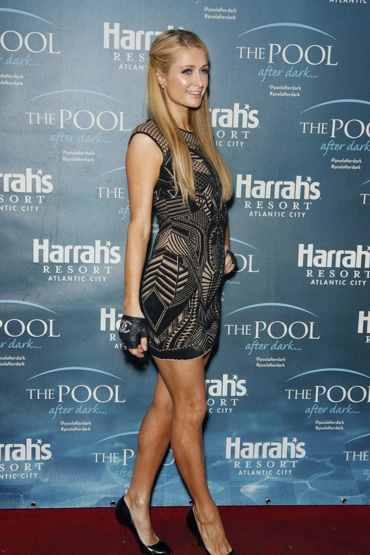 Paris Hilton The Pool at Harrah's Resort in Atlantic City