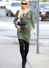 Paris Hilton - Stops By a Chiropractic Office in Los Angeles-03