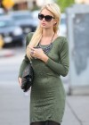 Paris Hilton - Stops By a Chiropractic Office in Los Angeles-08