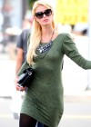 Paris Hilton - Stops By a Chiropractic Office in Los Angeles-13