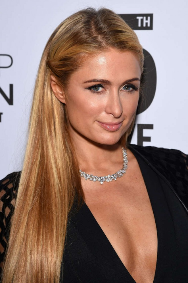 Paris Hilton - Topman Flagship Opening Dinner in NYC